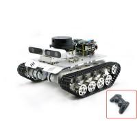 Tracked Vehicle ROS Car Robotic Car No Voice Module w/ A2 Radar ROS Master For Raspberry Pi 4B 2GB