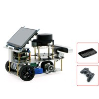 """Differential ROS Car Robotic Car With 7"""" Touch Screen A2 Radar ROS Master For Raspberry Pi 4B 2GB"""