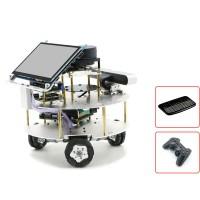 Omni Wheel ROS Robotic Car w/ Touch Screen Voice Module A1 Customized Radar For Jetson Nano B01 4GB