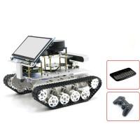 Tracked Vehicle ROS Car Robotic Car w/ Touch Screen A1 Standard Radar Master For Raspberry Pi 4B 2GB