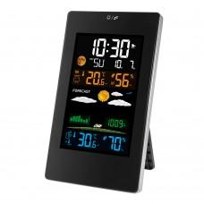 FanJu FJ3389B Wireless Weather Station Alarm Clock w/ Wireless Sensor For Indoor Outdoor Temperature