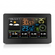 FanJu FJW4 Wifi Weather Station Weather Clock Wind Speed Paring Mode W003 Indoor Outdoor Temperature