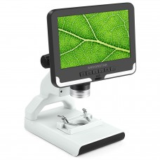 """ANDONSTAR AD108 200X Digital Microscope 2MP Electronic Magnifier 7"""" LCD Plastic Stand Black Monitor"""