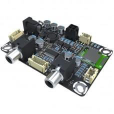 Bluetooth 5.0 Audio Receiver Board 2x3W Amplifier Board For APTX HD LL Modify Portable Speakers