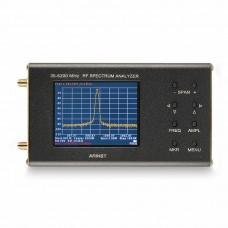 "ARINST SSA-TG R2 RF Spectrum Analyzer With Tracking Generator 3.2"" Touch Screen 35-6200MHz"