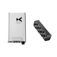 XD05 Plus Silver High Performance DAC & Headphone Amp + 05BL PRO Bluetooth Digital Turntable Kit