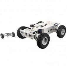 Ackerman Robot Car Smart ROS Car Assembled Top Version Independent Suspension Front Wheel Steering