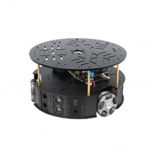 58MM Omni Wheel Robot Chassis Smart Car Chassis Unassembled Electronic Version w/ Controller For PS2