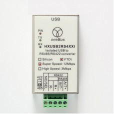 Isolated Converter USB To RS485 RS422 HXUSB2RS4XXI (12M) FTDI 12Mbps For Tamagawa Encoder Debugging