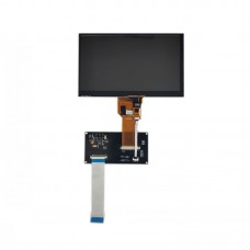 """7"""" 800x480 IPS Screen Capacitive Touch Screen With Adapter Board For NUC972 Development Board"""
