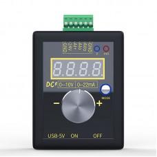 Current Voltage Signal Generator 0-10V/0-22MA SG-002 Rechargeable 4-Digit Adjustable Brightness