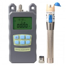 1MW 3-5KM Optical Visual Fault Locator Optical Power Meter Tester 850/980/1300/1310/1490/1550/1625nm