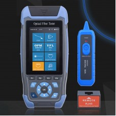 900D Optical Fiber Tester OTDR Optical Time Domain Reflectometer 800NM-1700NM 500M-60KM With OPM VFL