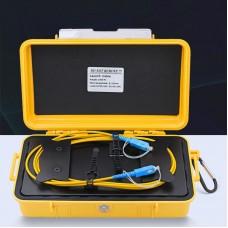 1000M/3280.8FT OTDR Launch Box Fiber Optic Launch Cable With SC/UPC-SC/UPC Connectors For SM Fiber