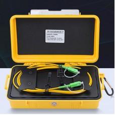 500M/1640.4FT OTDR Launch Box Fiber Optic Launch Cable With SC/APC-SC/APC Connectors For SM Fiber