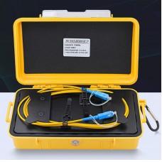500M/1640.4FT OTDR Launch Box Fiber Optic Launch Cable With SC/UPC-SC/UPC Connectors For SM Fiber