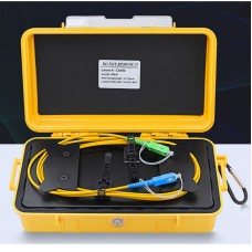 500M/1640.4FT OTDR Launch Box Fiber Optic Launch Cable With SC/UPC-SC/APC Connectors For SM Fiber