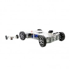 Ackerman Robot Car Smart ROS Car Assembled Top Version With Front Wheel Steering Mechanism