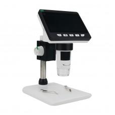 "Inskam307 50X-1000X Digital Microscope 2MP 1080P 4.3"" Display Adjustable Brightness For 32G TF Card"
