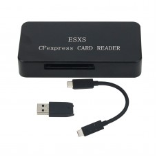 For ESXS CFexpress Card Reader USB 3.1 GEN2 10Gbps CFexpress Reader With USB3.1 GEN2 Data Cable