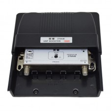 278A40 UHF Booster DTMB TV Signal Amplifier Booster Adjustable Gain For Digital Signal Outdoor Use