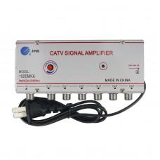 JMA 1020MK6 CATV Signal Amplifier Home Cable TV Amplifier 1 Input 6 Outputs Nominal Gain 20DB