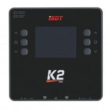 ISDT K2 AC 200W DC 500W x2 Dual Channel Smart Battery Balance Charger For Lilon LiPo LiHV NiMH Pb Gaoneng Tattu Battery RC Model