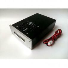 70W 400-470MHZ UHF RF Power Amplifier FPV Digital Transmission SWR Display Amplifier for Ham Radio Shortwave Radio