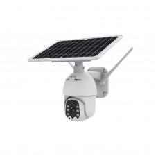 Q5 Wifi Solar Camera Security Camera Dome Camera Outdoor PTZ Camera Remote Monitoring Alarm HD Video