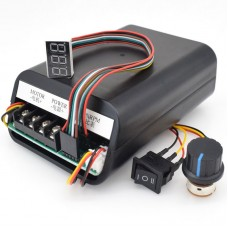 EQ89 PWM DC Motor Speed Controller Electronic Stepless Speed Switch Forward Reverse Input DC 10-55V
