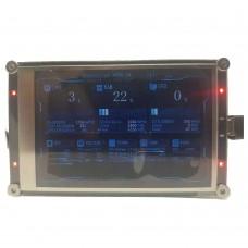 "3.5"" IPS Monitor LCD Monitor Screen w/ Transparent Shell RGB Breathing Light USB Display Sub-Screen"