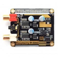 For Volumio Moode Raspberry Pi DAC Board Decoder Board 192KHz 24Bit 2CH DAC Hifi Dual Decoding I2S