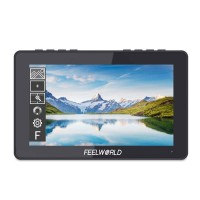 """FEELWORLD F5 Pro Camera Monitor DSLR Monitor 5.5"""" IPS Touch Screen 1920x1080 4K HDMI Input Output"""