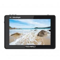 "FEELWORLD LUT7 4K Camera Monitor DSLR Monitor 7"" Touch Screen 2200Nit 3D LUT Waveform Light Sensor"
