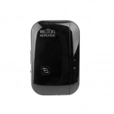 WR03- Wireless-N Wifi Repeater Wifi Extender Booster Amplifier Network Wifi Router Repeater AP Black