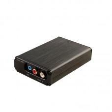 CM6631A Black Front Panel Digital Interface USB DAC Sound Card USB To I2S/SPDIF Coaxial 32Bit 192K