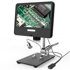 """Andonstar AD208 2MP USB Digital Microscope 5X-260X With 8.5"""" LCD 1080P For Repair PCB Soldering SMD"""