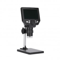 """G1000 10MP Electronic Microscope Rechargeable 1-1000X With 4.3"""" LCD Display Aluminum Plastic Stand"""