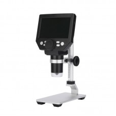 """G1000 10MP Electronic Microscope Rechargeable 1-1000X 4.3"""" LCD Display With Aluminum Alloy Stand"""