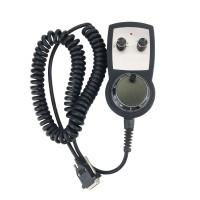 Standard CNC 6-axis Wireless Handle Manual Pulse Generator Handwheel MPG with Emergency Stop
