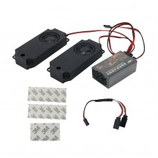Second Generation RC Car Engine Sound Simulator Throttle Linkage Sound Groups Speaker for RC Vehicle