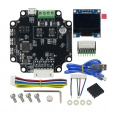 Makerbase MKS SERVO57B Servo Motor Module PCB Board 3D Printer Parts w/ 0.96 Inch OLED Display