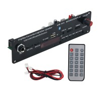 AVN-1816 20W BT5.0 Karaoke Bluetooth Speaker Amplifier DAC 3.7-5V + Cable + Silicone Remote Control