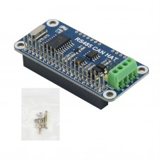 RS485 CAN HAT RS485 CAN Expansion Board CAN Module UART Communication Module For Raspberry Pi