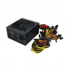 1800W Desktop Industrial PC Power Supply Server Mining Power Supply Support 6 Graphics Cards