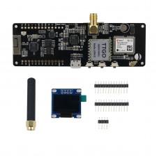 LILYGO TTGO T-Beam V1.1 ESP32 Wifi Bluetooth Module 868Mhz OLED GPS NEO-6M SMA 18650 Battery Holder