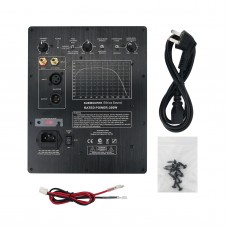 Subwoofer Amplifier Board Plate Amplifier Ethics Sound 350W For Closed & Phase-Inverted Subwoofers