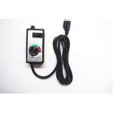 HR-8A Stepless Motor Speed Controller Universal Duct Fan Governor Switch Dimmer Electric Adjustable Speed Regulator US Plug 120V