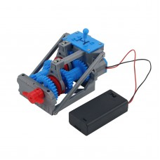 3D Printed Transmission Four-Speed Transmission Model Gearbox Toys Kit Three Forward One Reverse