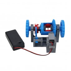 3D Printed Model Differential Mechanism Differential Lock Structure Principle Model Teaching Aids